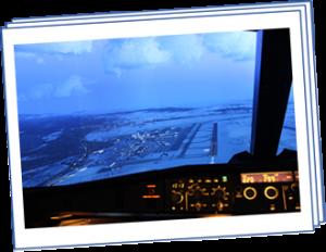 VFR-Anflug