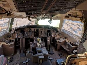 Originales Boeing 767 Cockpit